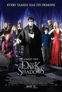 tim burton johnny depp dark shadows netflix danmark