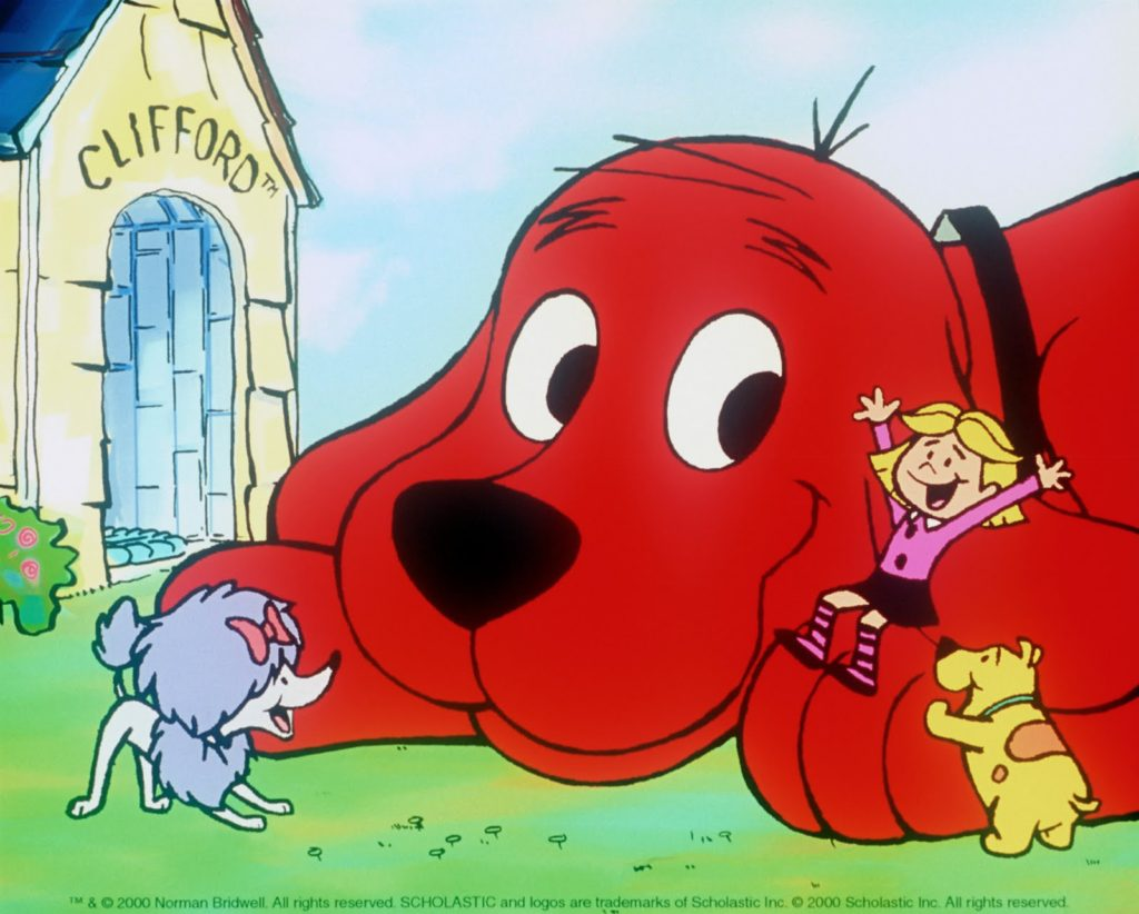 clifford den store røde hund netflix dk