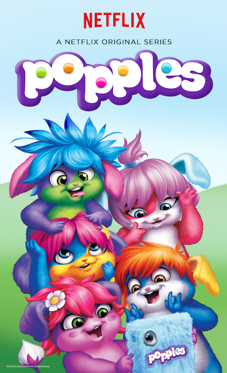 popples netflix børn tv