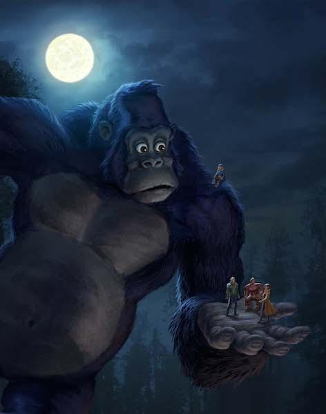 king kong of the ape netflix animation dk