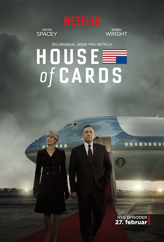 hoc house of cards sæson 3 netflix plakat