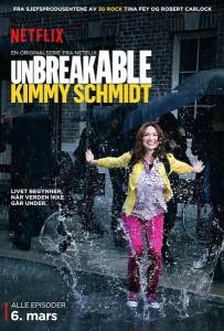 unbreakable kimmy schimidt plakat trailer netflix danmark
