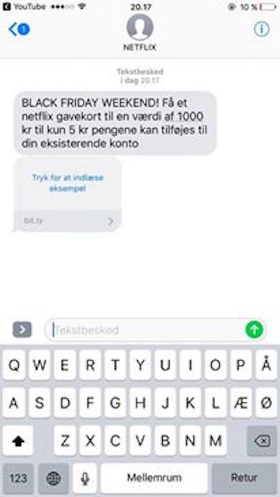 netflix-spam-sms-besked-tilbud-black-friday