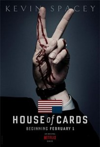 house of cards netflix danmark
