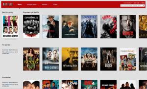 film og serier på netflix