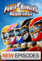 Se Power Rangers: Megaforce på Netflix