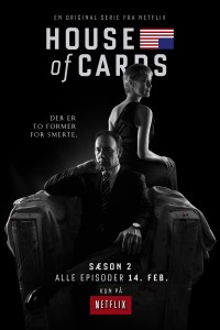 house of cards poster plakat netflix danmark