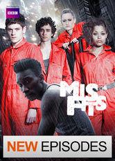 Se Misfits på Netflix