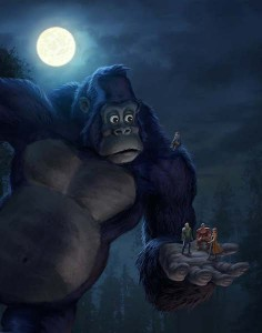 king kong of the ape netflix animation dk