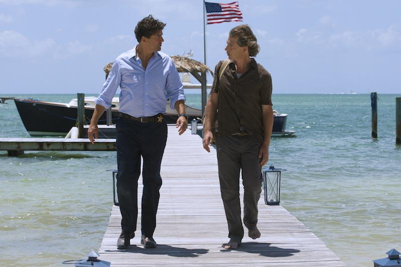 Kyle Chandler (John Rayburn) og Ben Mendelsohn (Danny Rayburn). Foto: Saeed Adyani, Netflix.