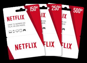 netflix gavekort gratis