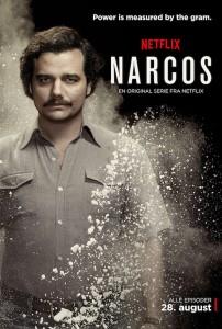 narcos netflix danmark serie escobar
