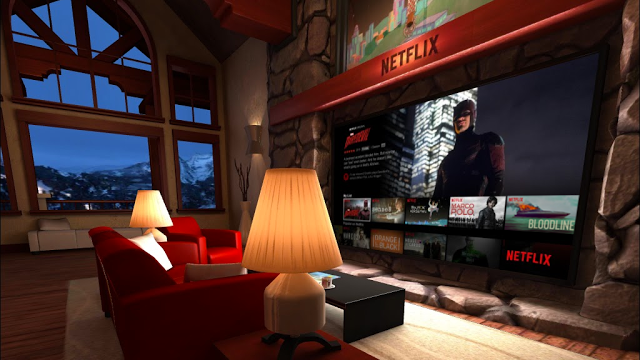 netflix living room virtual reality
