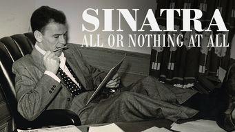 Se Sinatra: All or Nothing at All på Netflix