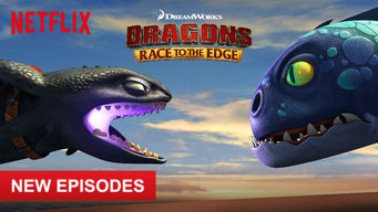 Se Dragons: Race to the Edge på Netflix