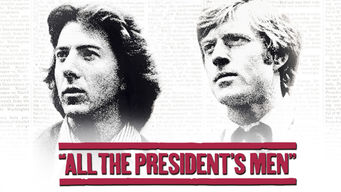 Se All the President's Men på Netflix