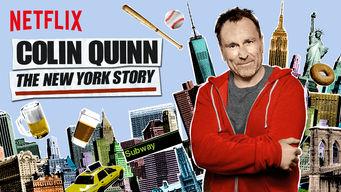 Se Colin Quinn: The New York Story på Netflix