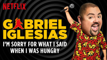 Se Gabriel lglesias: I'm Sorry For What I Said When I Was Hungry på Netflix
