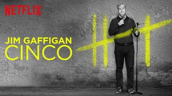 Se Jim Gaffigan: Cinco på Netflix