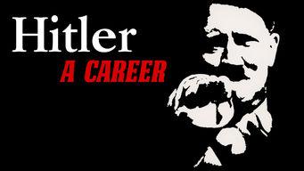 Se Hitler – A Career på Netflix