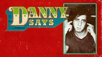 Se Danny Says på Netflix
