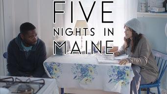 Se Five Nights in Maine på Netflix