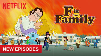 Se serien F Is for Family på Netflix