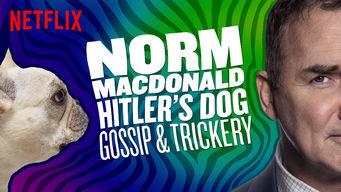 Se Norm Macdonald: Hitler's Dog, Gossip & Trickery på Netflix
