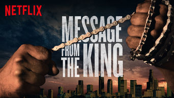Se Message from the King på Netflix