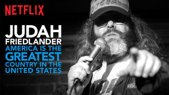 Se Judah Friedlander: America Is the Greatest Country in the United States på Netflix