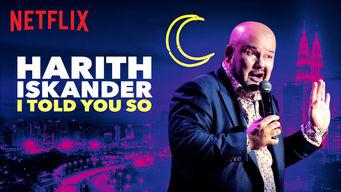 Se Harith Iskander: I Told You So på Netflix