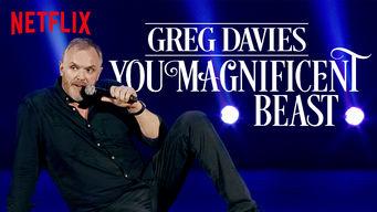 Se Greg Davies: You Magnificent Beast på Netflix