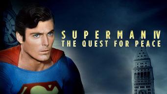 Se Superman IV: The Quest for Peace på Netflix