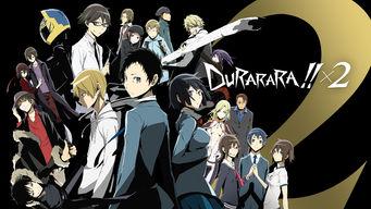 Se Durarara!!X2 på Netflix