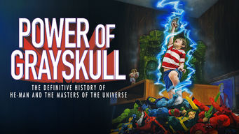 Se The Power of Grayskull: The Definitive History of He-Man and the Masters of the Universe på Netflix