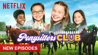 The Ponysitters Club netflix film serier