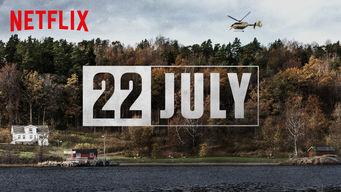 Se 22 July på Netflix