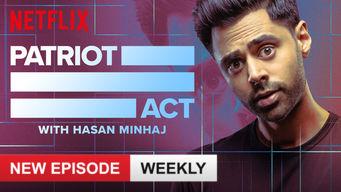 Se Patriot Act with Hasan Minhaj på Netflix