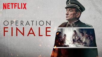 Se Operation Finale på Netflix