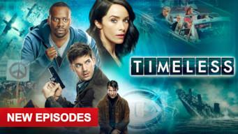 Se serien Timeless på Netflix