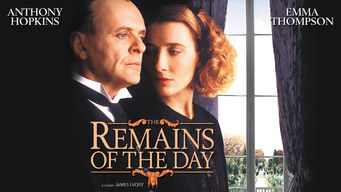 Se The Remains of the Day på Netflix