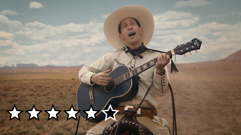 ballad of buster scruggs anmeldelse review netflix film 2018
