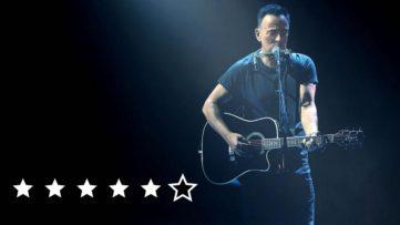 Bruce Springsteen on Broadway anmeldelse review netflix 2018