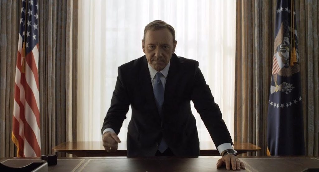 netflix lyd intro kevin spacey house of cards