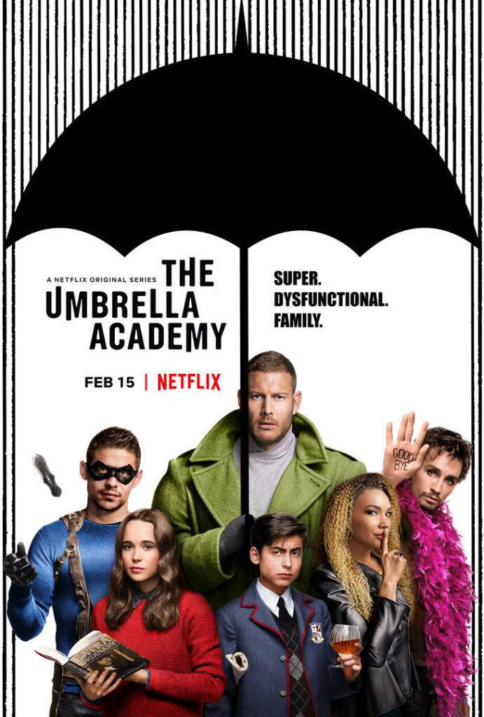 The Umbrella Academy netflix serie danmark