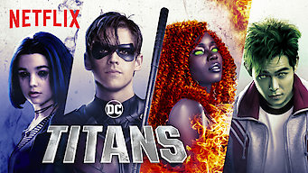 Titans film serier netflix