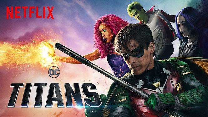 nye serier film titans netflix 2019