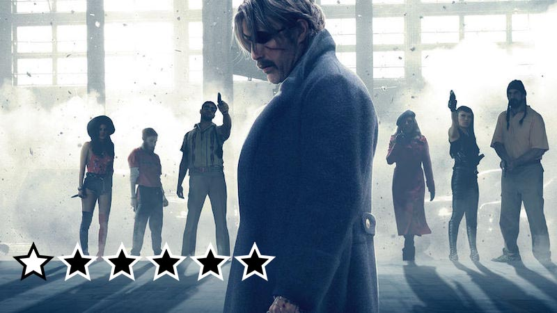polar anmeldelse review 2019 netflix mads mikkelsen film