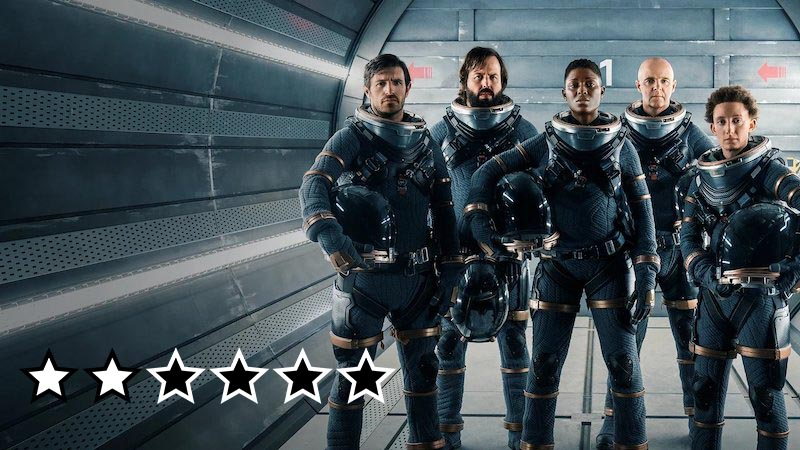 nightflyers anmeldelse review netflix serie 2019