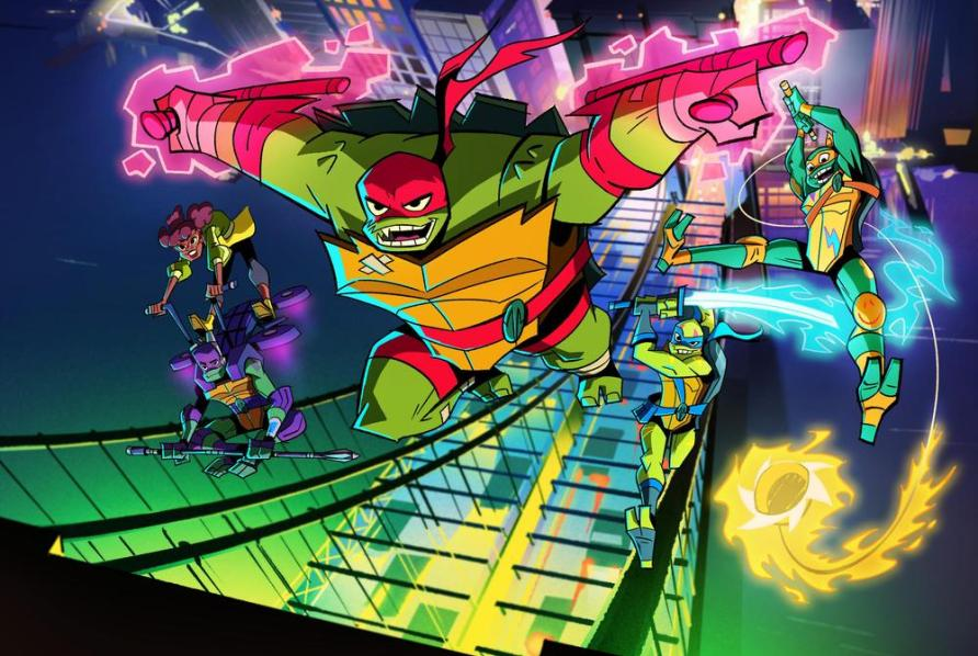 tmnt Teenage Mutant Ninja Turtles netlfix